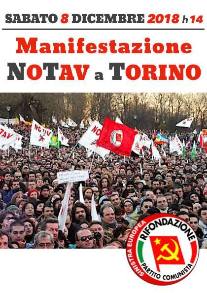 Sabato 08 Dicembre Manifestazione No TAV a Torino!